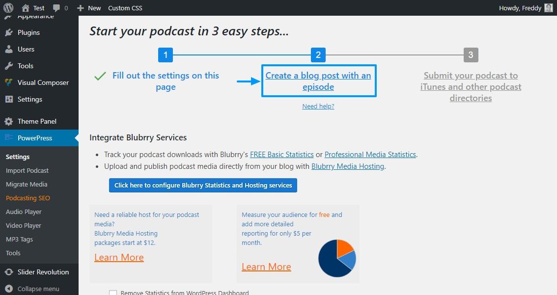 Erstellen Sie einen Podcast mit Powerpress