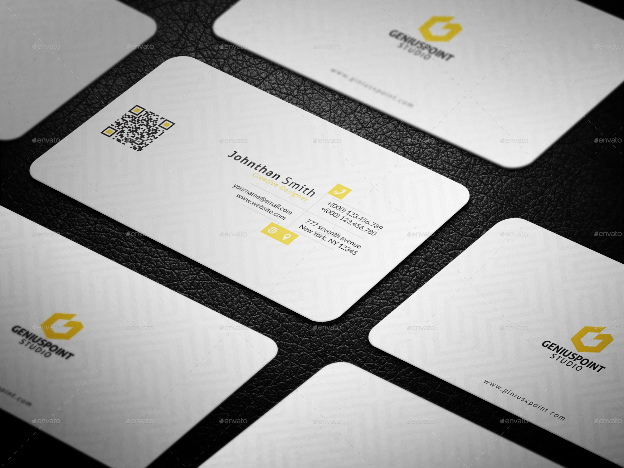 20+ Professional & Simple Business Cards Templates For 2018