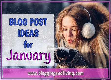 January blog post ideas