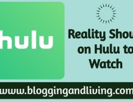 reality shows on Hulu