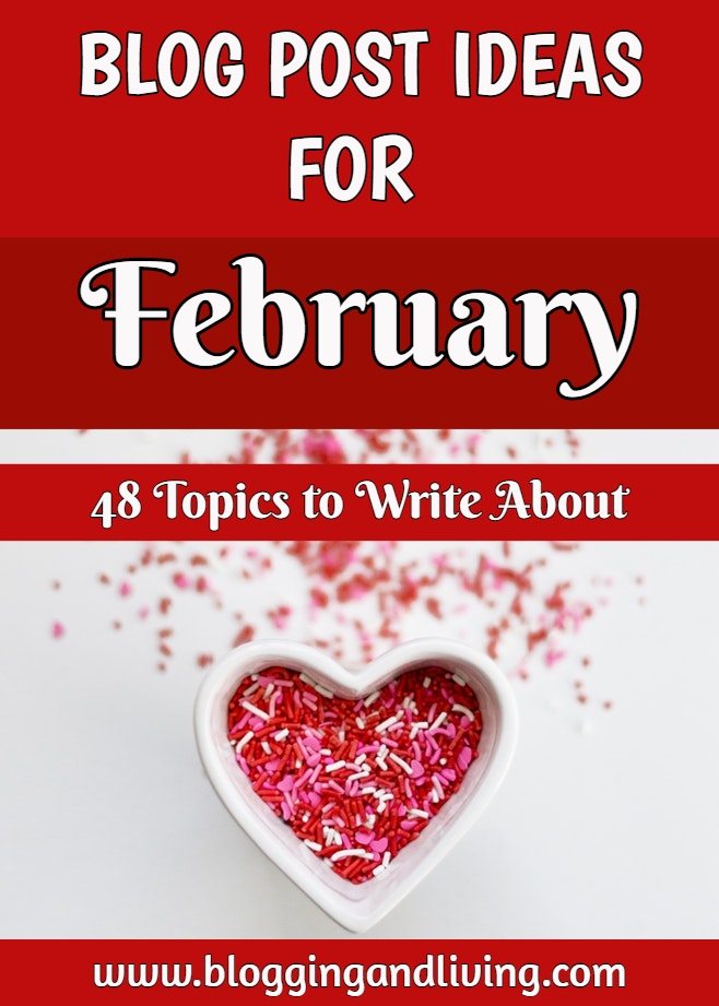 February blog post ideas