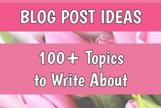 May Blog Post Ideas