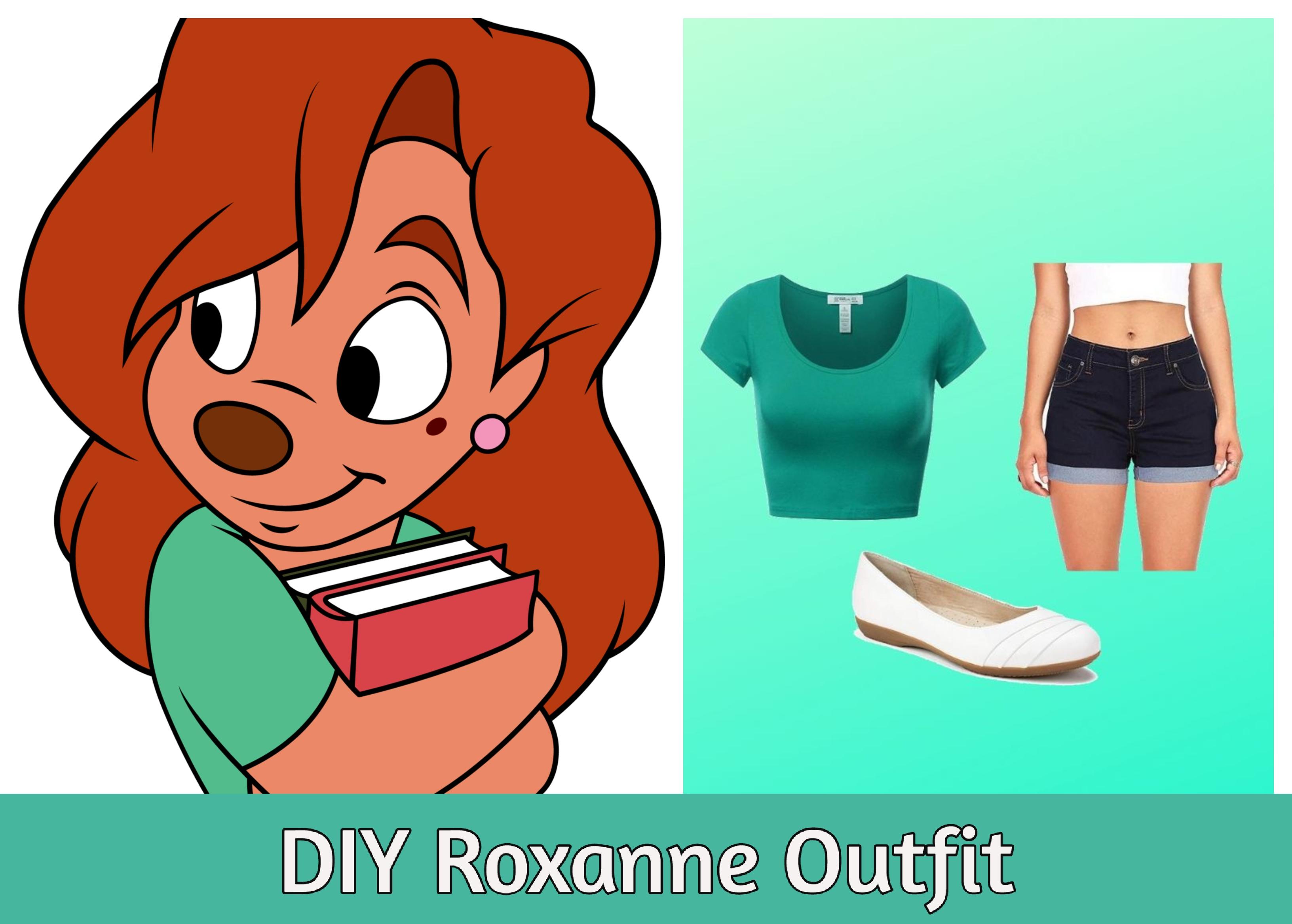 Diy Roxanne Goofy Movie Costume Blogging And Living