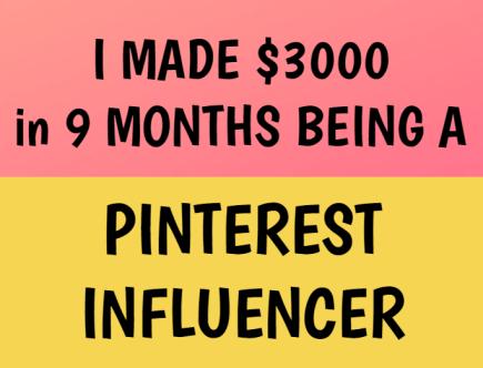 pinterest influencers