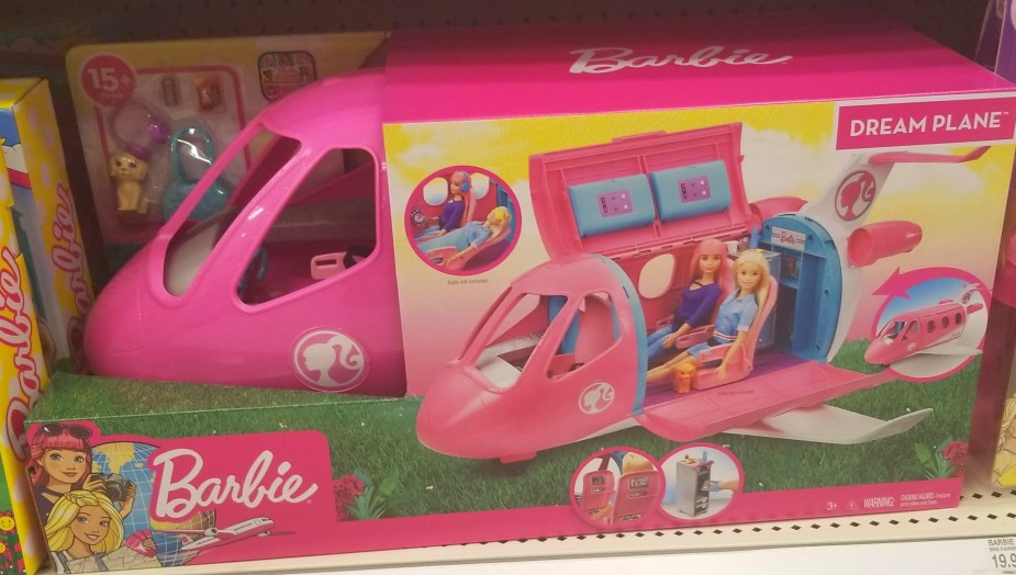 barbie plane toy