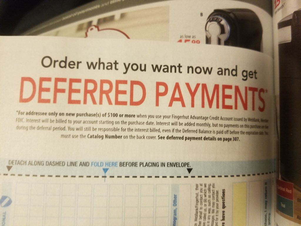 fingerhut catalog