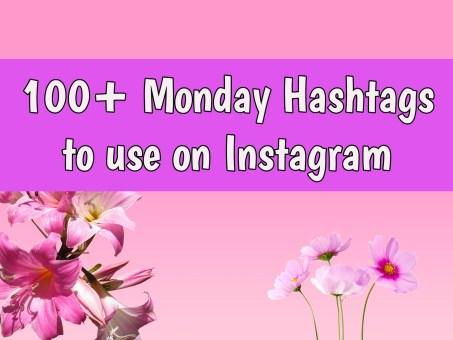 monday hashtags