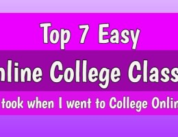 easy online college classes