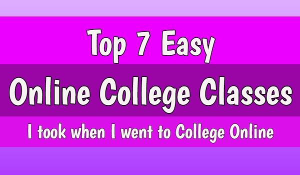 easy online college classes