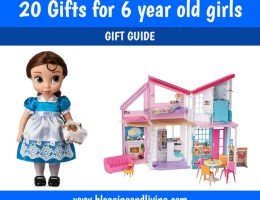 Gifts for 6 year old girls