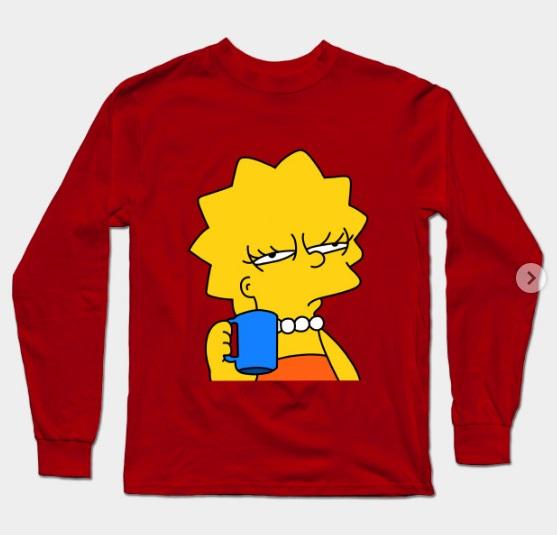 Lisa Simpson shirt