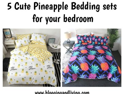 pineapple bedding sets