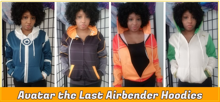 I bought Avatar the Last Airbender Hoodies on The Tynam | Review