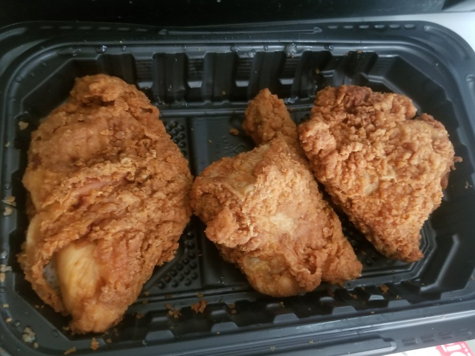 Walmart fried chicken review