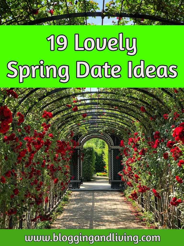 19 Fun Spring Date Ideas | Spring Bucket List