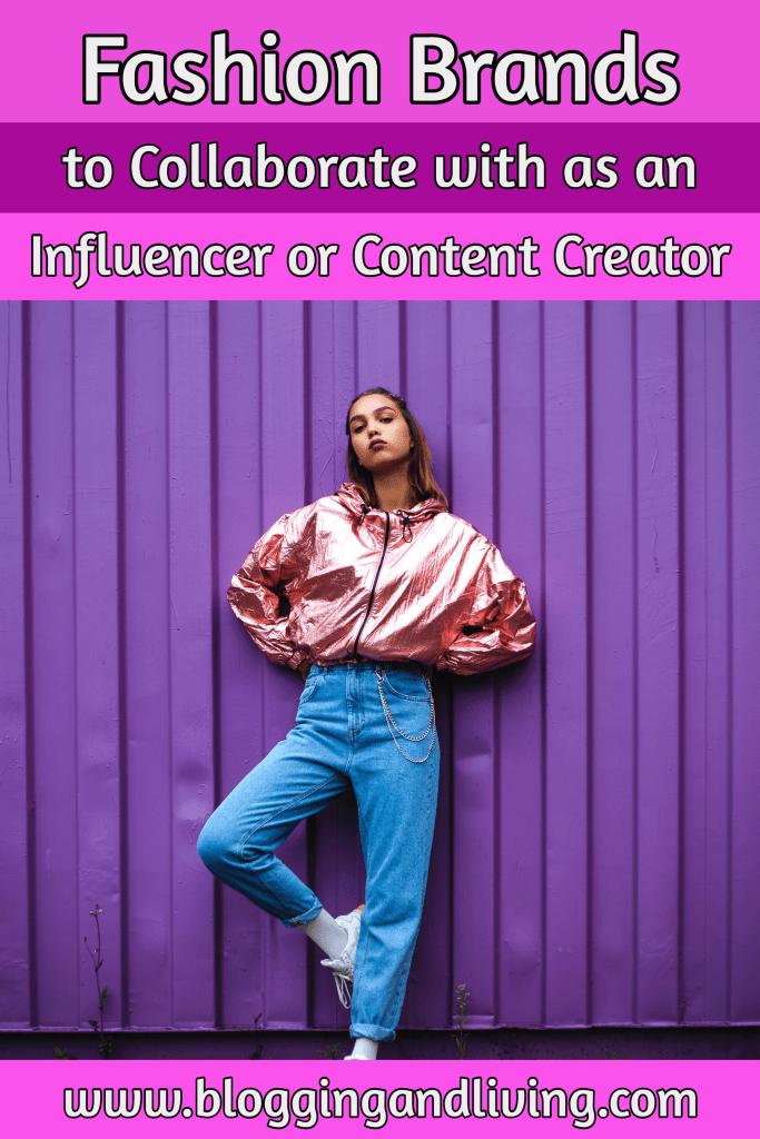 influencer fashion brands