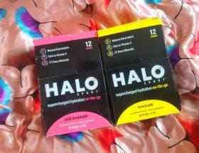 Halo electrolyte