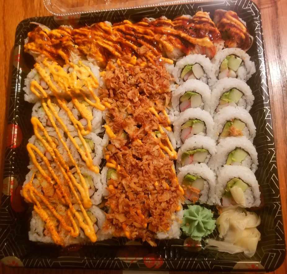 kroger sushi platter