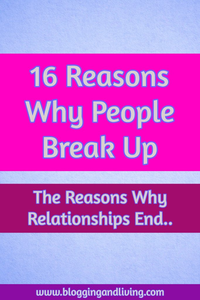 reasons why couples break up