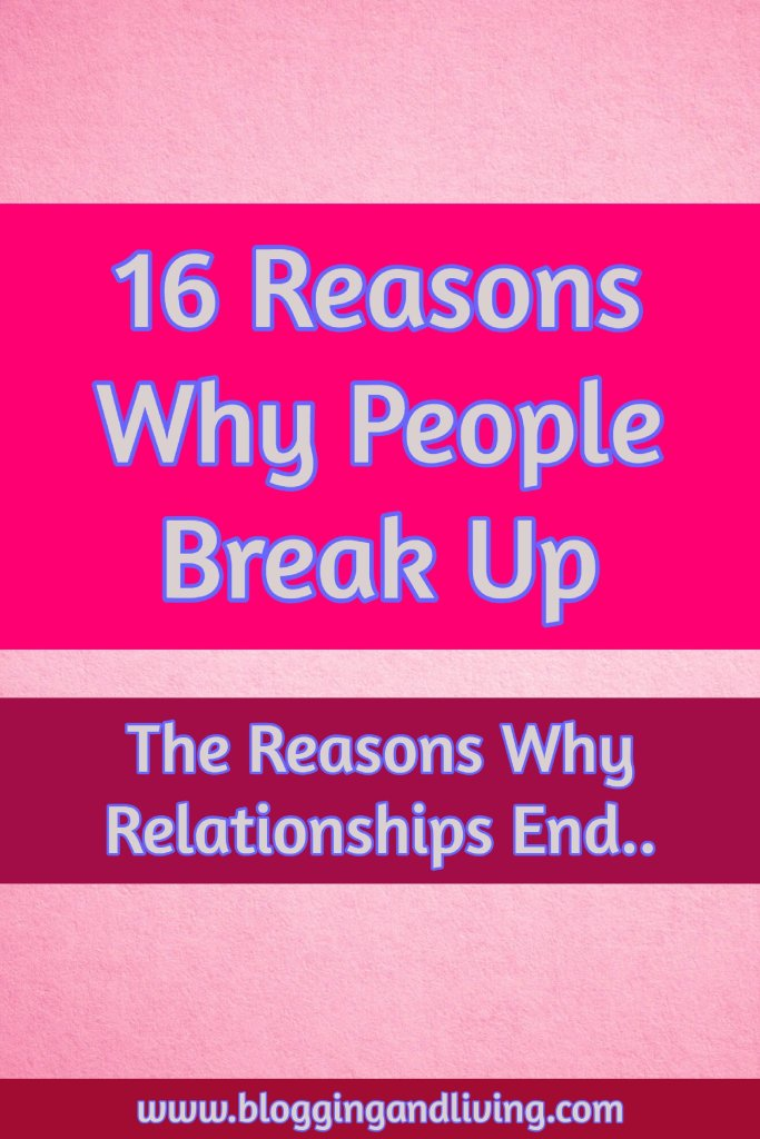why do people break up