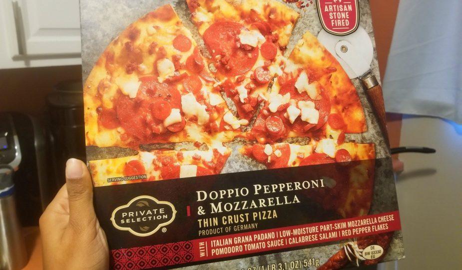 Private Selection Doppio Pepperoni & Mozzarella Thin Crust