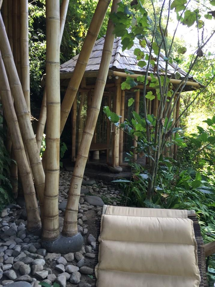 Gazebo located outside of our villa