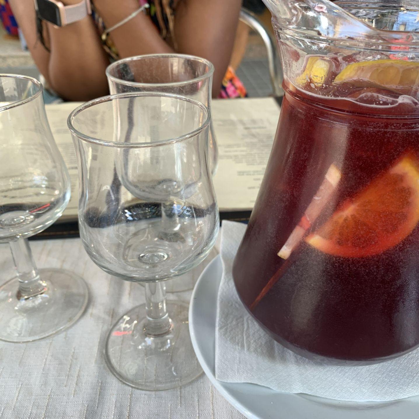 Sangria, Tapas, Barcelona, Spain
