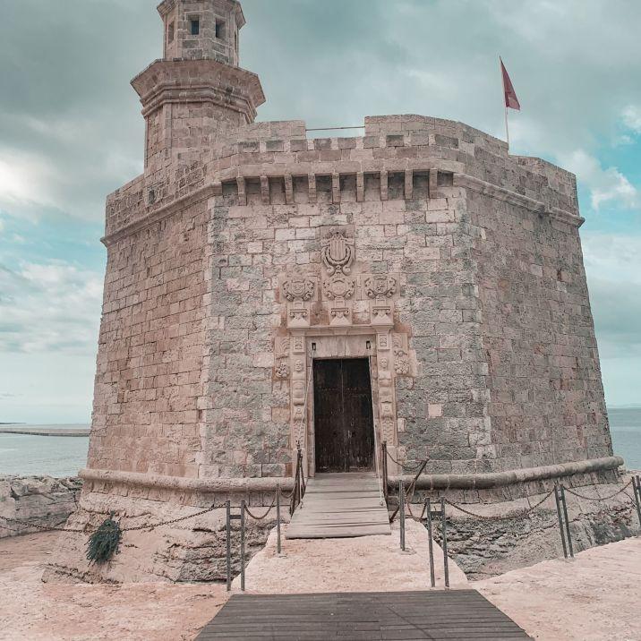 Castillo Menorca, Spain