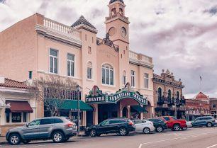 Sonoma Plaza, Historic Downtown Sonoma, Sebastiani Theatre