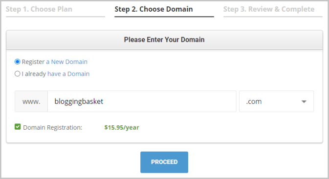 Siteground Hosting Domain Name Registration