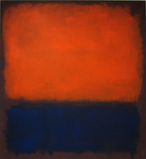 Look familiar? The Democratic electoral map has started to look a lot like Mark Rothko's No. 14 from 1960. (Image courtesy of markrothko.com)