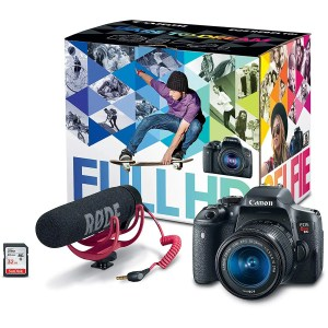 Gift Ideas for Bloggers: DSLR Camera