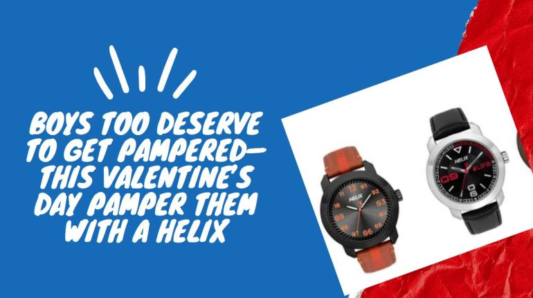 helix watches for valentines day gift