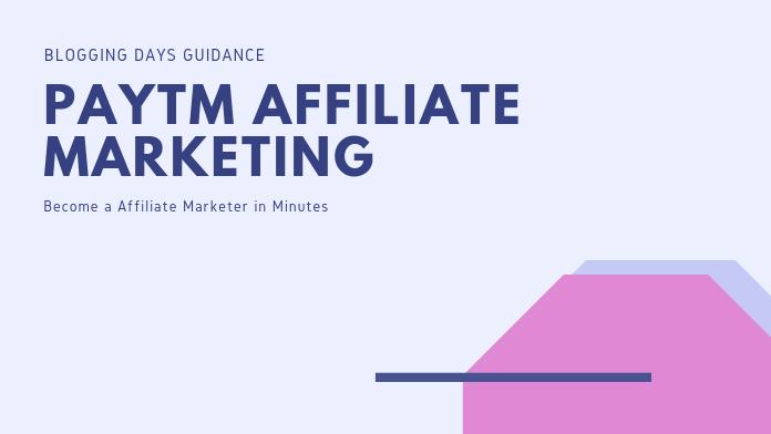 paytm affiliate program