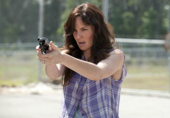 Sarah Wayne Callies as Lori in The Walking Dead