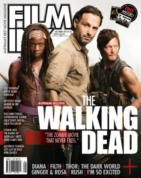 FilmInk Magazine's Walking Dead Cover