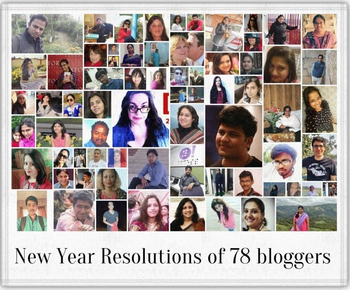78 Bloggers sharing their new year resolutions