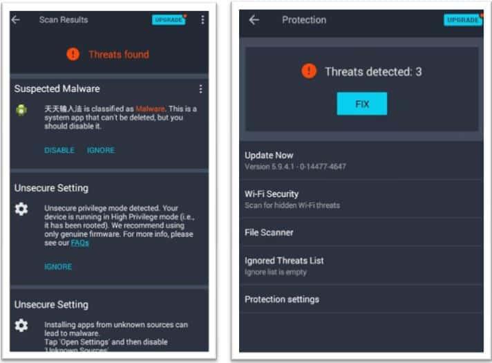 AVG Antivirus App Review - Virus Threats