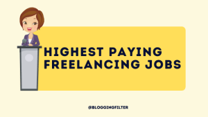 Highest Paying Freelancing Jobs