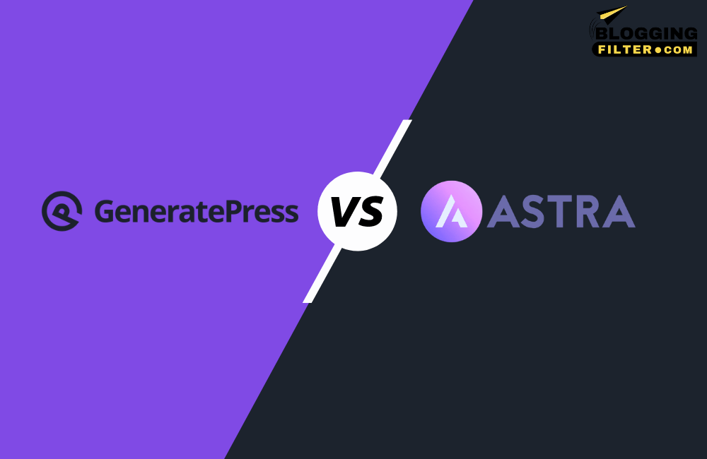 GeneratePress Vs Astra Theme via @bloggingfilter
