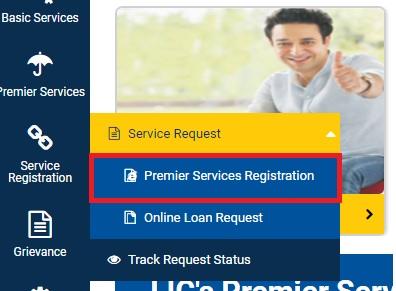 Premier Service Registration