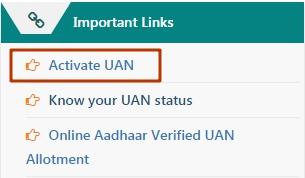 activate UAN