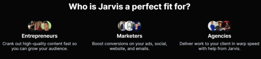 jarvis.ai review: Who is Jarvis.ai a perfect fit for?