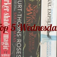 Top 5 Wednesday: Authors I Need To Read More From