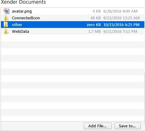 other folder select kare