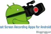 Android Mobile Me Screen Record Karne Ke Liye Best Apps