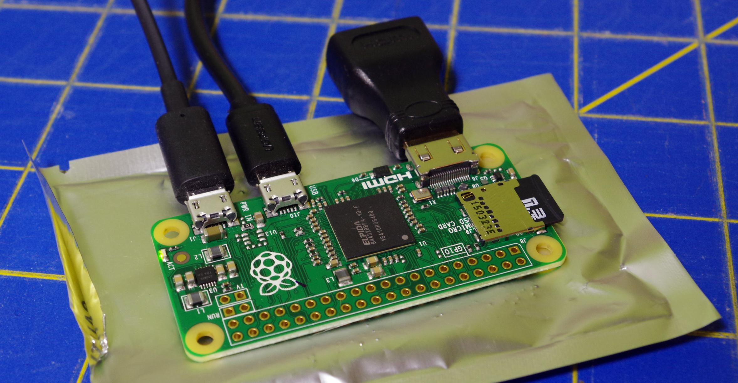 NextThing CHIP and Raspberry Pi Zero - [Blogging Intensifies]