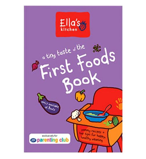 Free weaning book at Boots!