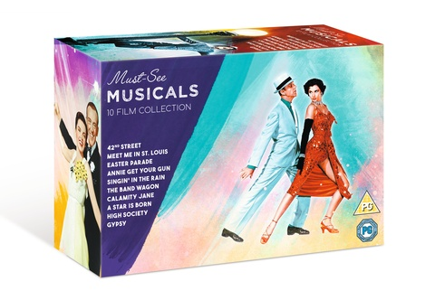 Must-See Musicals 10 Film Collection DVD Box Set | Gift Recommendation