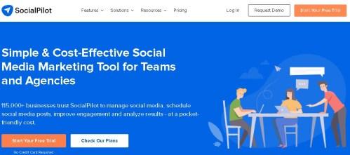 Social Media Planning Tools For Bloggers_Social Pilot